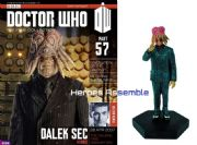 Doctor Who Figurine Collection #057 Dalek Sec Humanoid Eaglemoss